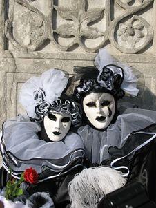 Free Venetian Masks Royalty Free Stock Photography - 8319777