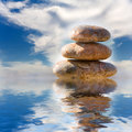 Free Stack Of Pebbles Royalty Free Stock Image - 8326676