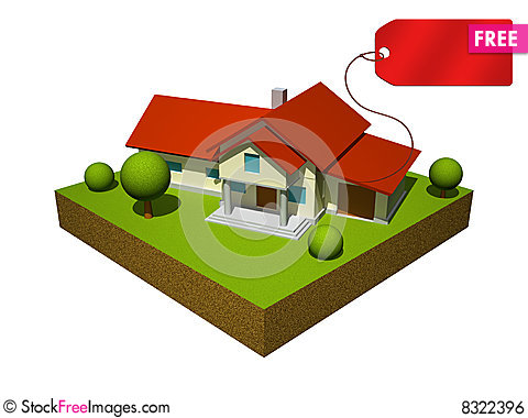 Free house model