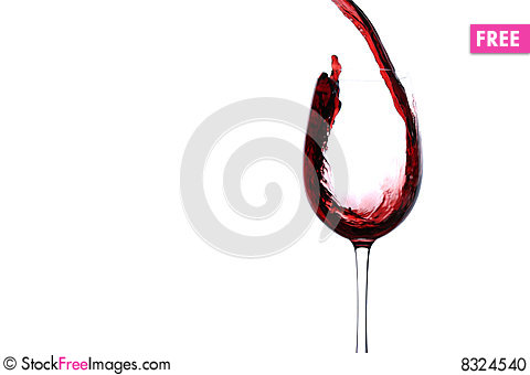Free Stream Of Wine Stock Photo - 8324540