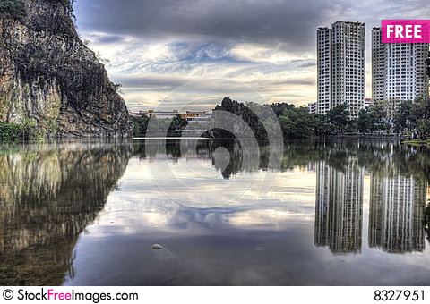 Free Bukit Batok Town Park (Little Guilin) Of Singapore Stock Image - 8327951