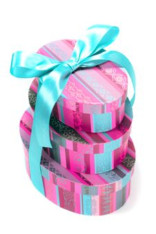 Free Pyramid Of Colorfull Gift Boxes Stock Photos - 8320203