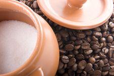 Free Sugar And Coffee Royalty Free Stock Photo - 8320295