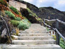 Free Stairs On Canary Island La Palma Stock Image - 8320881
