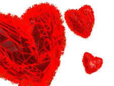 Free Abstract Hearts Royalty Free Stock Images - 8320919