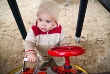Free Child On Playground Stock Photos - 8320973