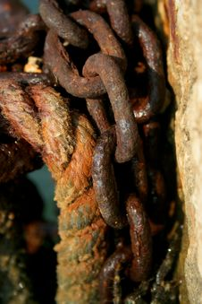 Free Rusty Chain Royalty Free Stock Photo - 8321205