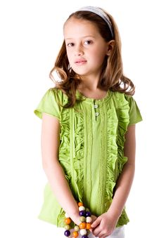 Free Young Girl Waiting Royalty Free Stock Photography - 8321367