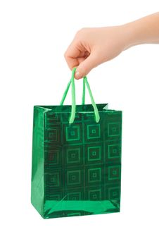 Free Hand With Shopping Bag Stock Images - 8321424