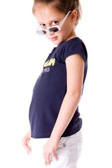 Free Child With Attitude Royalty Free Stock Photo - 8321435
