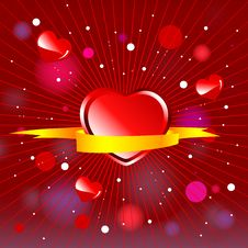 Valentine Day Wallpaper Royalty Free Stock Photos