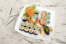 Free Assortment Of Sushi Stock Photo - 8321680