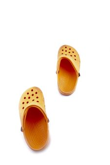 Free Orange Shoes Stock Photos - 8322203