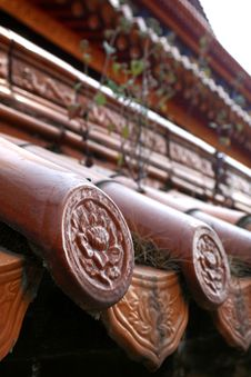 Free Chinese Roof Tiles Stock Photo - 8322460