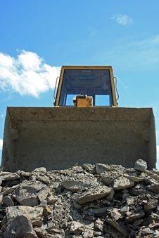 Free Bulldozer Stock Photo - 8322670