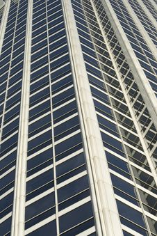 Close Up Of Office Building Royalty Free Stock Photos