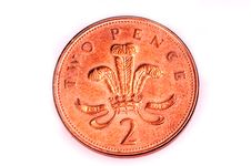 Free Two Pence Coin Stock Photos - 8323133