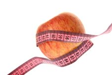 Free Apple And Measurement Tape Stock Photo - 8323240