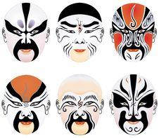 Free Beijing Opera Mask Royalty Free Stock Images - 8323329
