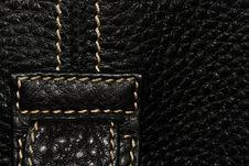 Free Black Leather Stock Photos - 8323993