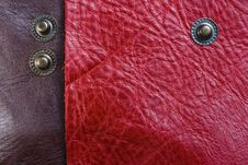 Free Pink And Brown Leather Stock Photography - 8324162