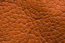 Free Orange Leather Royalty Free Stock Photography - 8324287