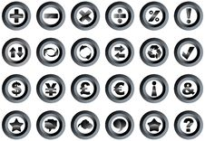 Free Buttons Stock Photography - 8324582