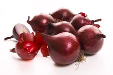 Free Red Onion Royalty Free Stock Photography - 8324607