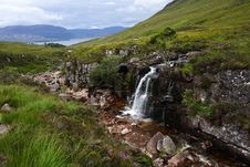Free River And Waterfall In The Highlands Royalty Free Stock Photography - 8324907