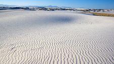 Free White Sand Dune Stock Image - 8325051