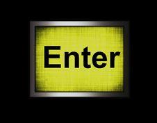 Free Enter Key Stock Image - 8325611