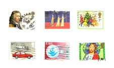 Free 6 British Stamps Stock Photography - 8325932