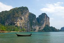 Free Carst Cliffs Of Railay Beach Stock Photography - 8326422
