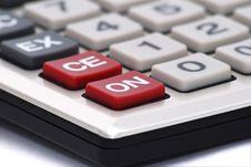 Free Calculator Keyboard Royalty Free Stock Photography - 8326927