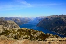 Preikestolen Royalty Free Stock Photography