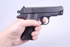 Free Pointing A Handgun Stock Images - 8327934