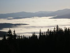 Free Fog Of Carpathians Stock Photo - 8328080