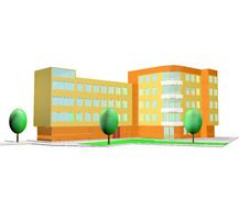Free 3D Rendering Of House Stock Photo - 8328710