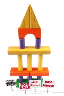 Free Toy Block Tower Stock Image - 8328751