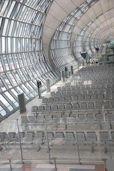 Free Futuristic Modern Airport Gate Royalty Free Stock Photos - 8328798