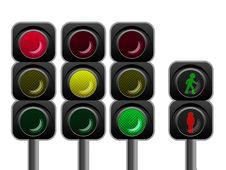 Free Traffic Lights Royalty Free Stock Photos - 8329308