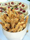 Free Bread Sticks And Snacks Royalty Free Stock Photography - 8339067