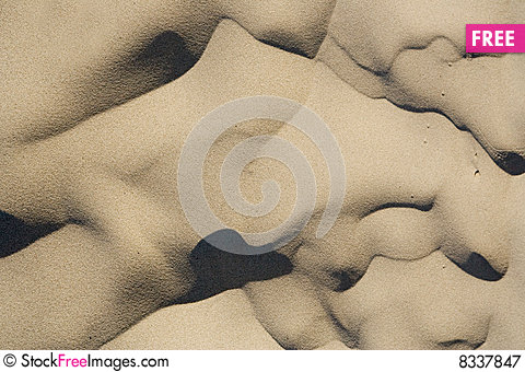Free Sandy Background Royalty Free Stock Photography - 8337847