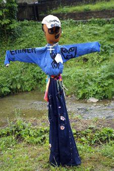 Free Scarecrow Royalty Free Stock Photos - 8330388
