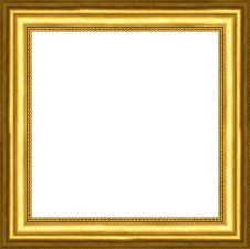 Free Gold Frame Royalty Free Stock Image - 8331096