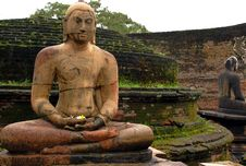 Vatadage Temple In Polonnaruwa Royalty Free Stock Images