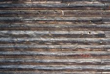 Free Logs Wall Stock Photography - 8331452