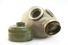 Free Gas Mask2 Royalty Free Stock Photography - 8331677