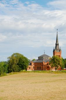 Free Church In Sweden 2 Stock Photo - 8331680
