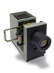 Free Old Film-viewing Device Stock Photo - 8332440